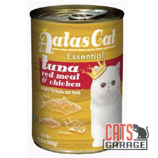AATAS CAT Essential - Tuna Red Meat With Chicken in Jelly Cat Wet Food 400gm