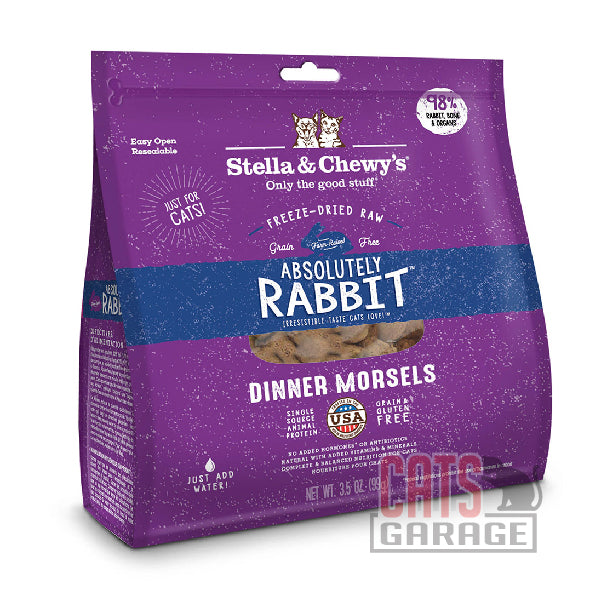 Stella & Chewy's - Dinner Morsels / Absolutely Rabbit 8oz
