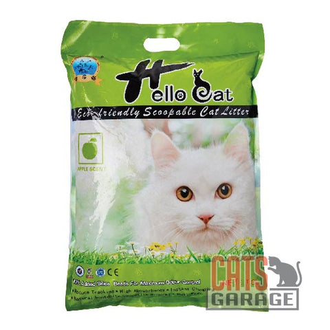 Hello Cat Litter - Green Apple 10L