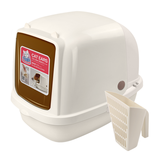Catidea - Cat Ears Cat Litter Box