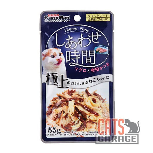 Cattyman® Cat Pouch - Tuna And Chicken - Bonito 55g
