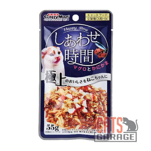 Cattyman® Cat Pouch - Tuna And Bonito - Crab Sticks 55g