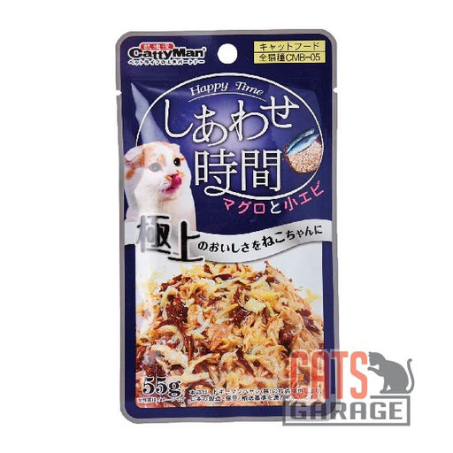 Cattyman® Cat Pouch - Tuna And Bonito - Shrimps 55g