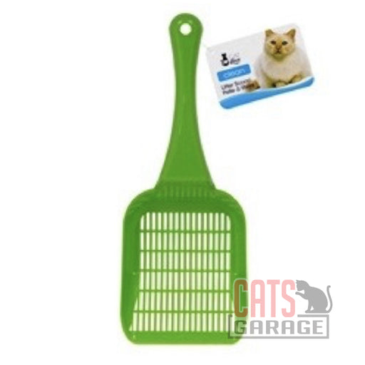 Cat Love Litter Scoop Green