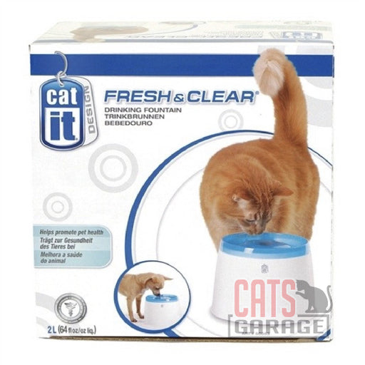 Catit® - Design Fresh & Clear Cat Drinking Fountain - 2 L