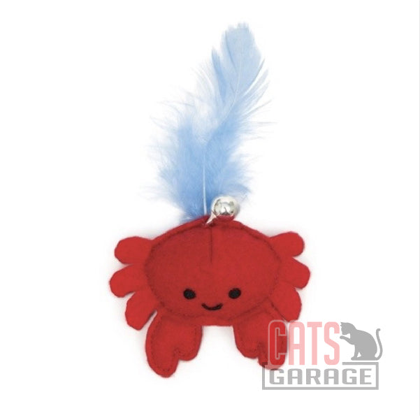 Catit® - Play Pirates Catnip Toys - Plush Crab