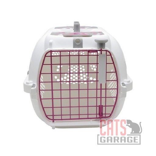 Catit® - Style Profile Voyageur Cat Carrier - Pink Ribbon, Small