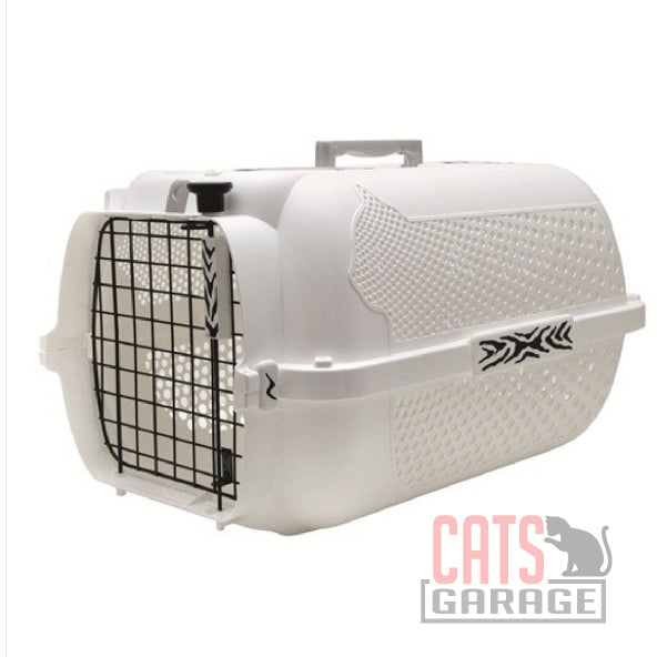 Catit® - Style Profile Voyageur Cat Carrier - White Tiger - Small
