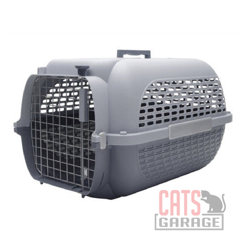 Catit® - Voyageur Cat Carrier - Gray/Gray - Medium