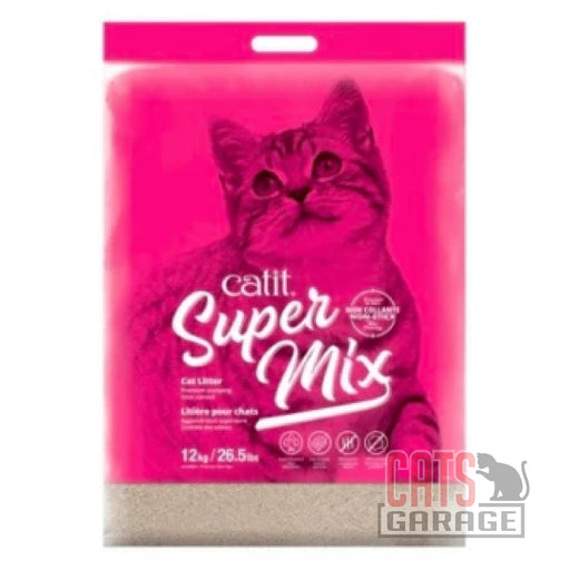 Catit® - Super Mix Cat Litter - 12 kg