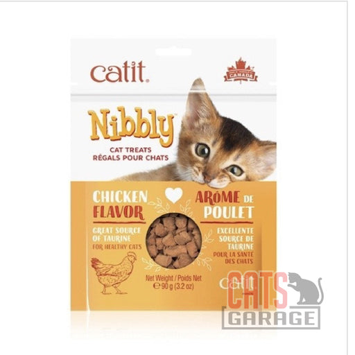 Catit® Nibbly Treats - Chicken Flavour - 90 g (3.2 oz)