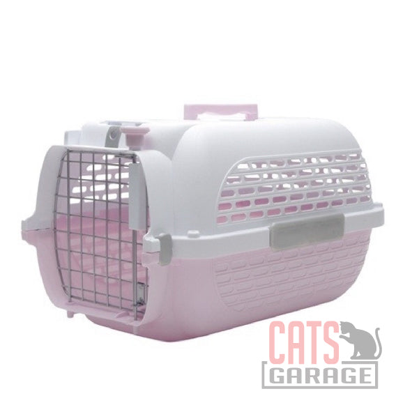 Catit® Voyageur Cat Carrier - Pink/White - Small