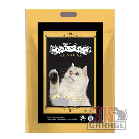 Premium Cats Agree Tofu Cat Litter - Lemonade 7L