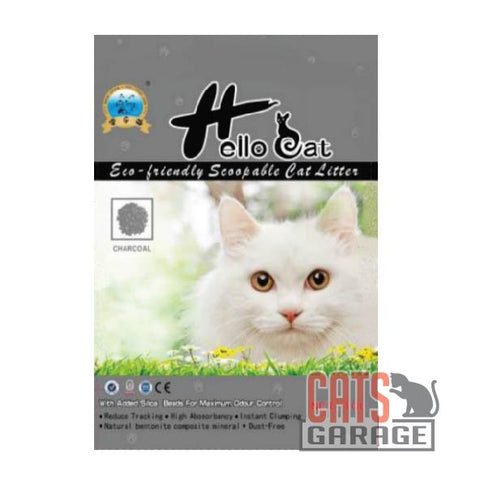 Hello Cat Litter - Charcoal 10L