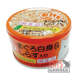 CIAO® - White Meat Tuna with Shirasu in Jelly 85g