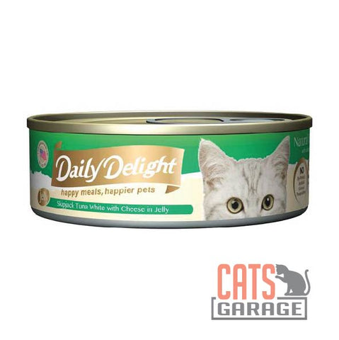 Daily Delight - Skipjack Tuna White with Cheese in Jelly 80g