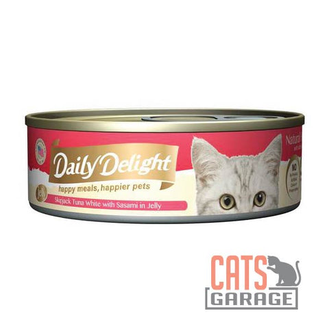 Daily Delight - Skipjack Tuna White with Sasami in Jelly 80g