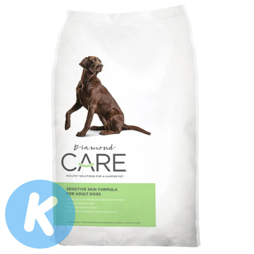Diamond Care - Sensitive Skin Formula For Adult Dogs Dry Food (2 Sizes)