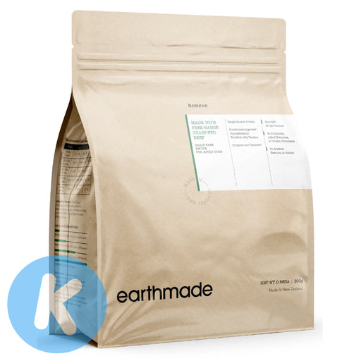 Earthmade - Free Range Grass-Fed Beef Adult Dog Dry Food (3 Sizes)