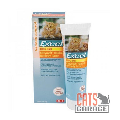 Excel® - Kittymalt™ Hairball Remedy Paste For Long Hair 70g