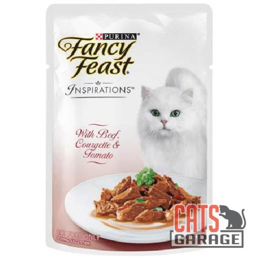 Fancy Feast® Inspirations - Beef, Courgette & Tomato 70g