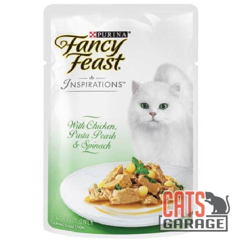 Fancy Feast® Inspirations - Chicken, Pasta Pearls & Spinach 70g