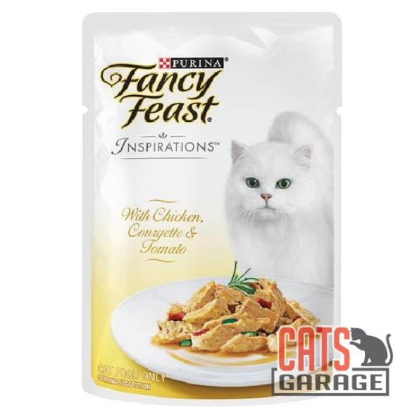 Fancy Feast® Inspirations - Chicken, Courgette & Tomato 70g X12