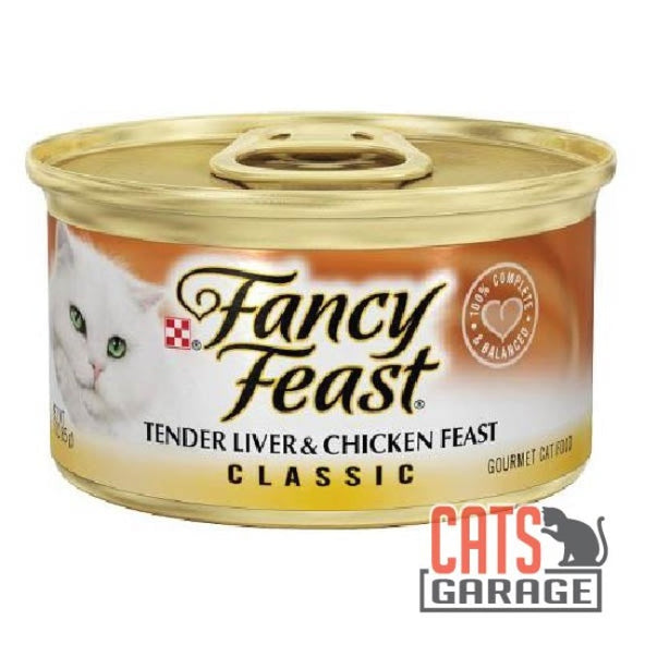 Fancy Feast® Classic - Gourmet Liver & Chicken Feast 85g