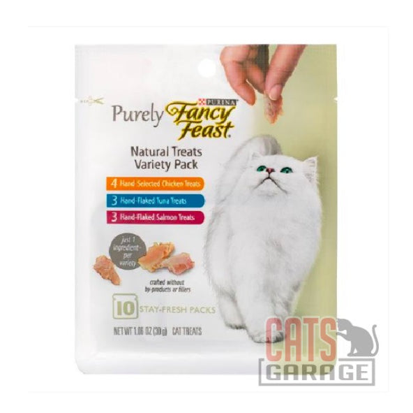 Fancy Feast® Purely Natural Treats 30g - Variety