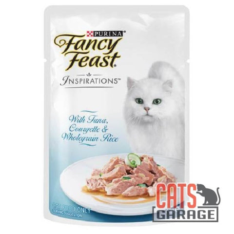 Fancy Feast® Inspirations - Tuna, Courgette & Whole Grain Rice 70g
