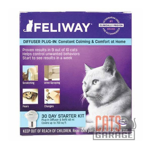 Feliway® - Classic Diffuser & Refill 30-Day Starter Kit