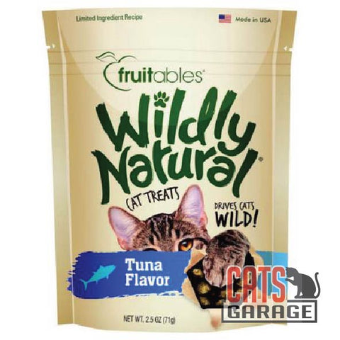 Fruitables® Wildly Natural - Tuna Cat Treats 71gms