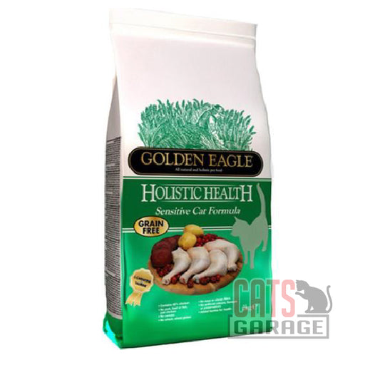 Golden Eagle - Holistic Health Sensitive Grain Free Dry Cat Food 2kg
