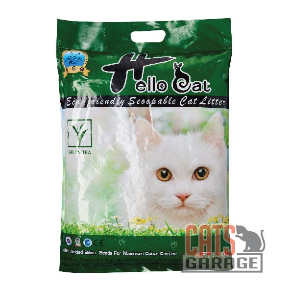 Hello Cat Litter - Green Tea 10L
