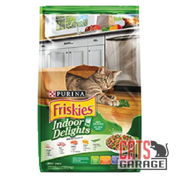 FRISKIES Indoor Delights Cat Dry Food (2 Sizes)