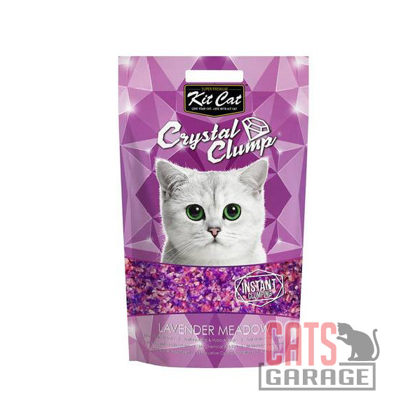 Kit Cat® Crystal Clump - Lavender Meadow Cat Litter 4L