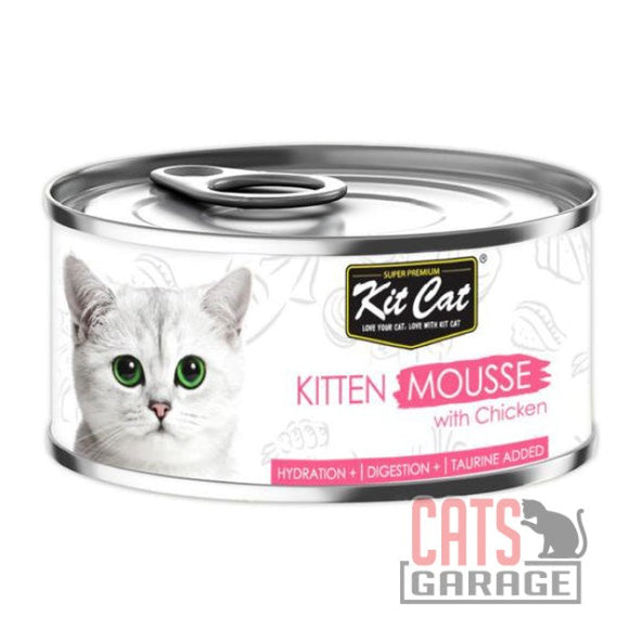 Kit Cat® - Kitten Mousse Chicken 80g