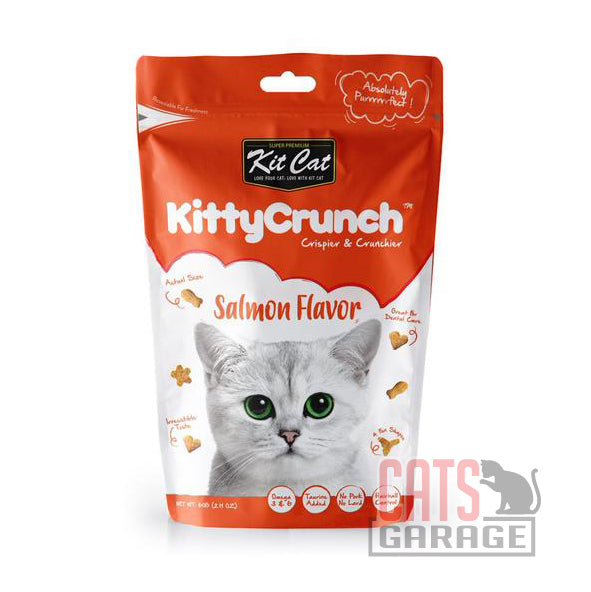 Kit Cat® KittyCrunch - Salmon Flavor Cat Treats 60g