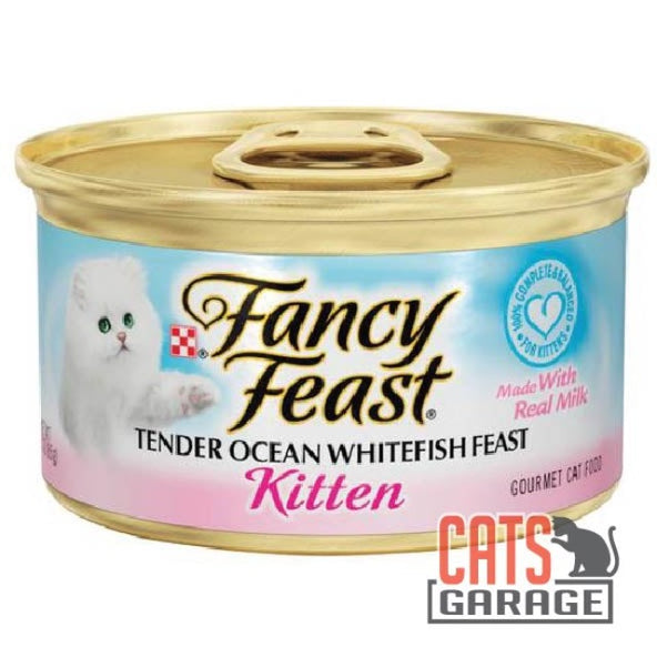Fancy Feast® - Kitten Tender Ocean Whitefish Feast 85g