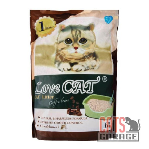 Love Cat® Cat Litter - Coffee Bean 6L