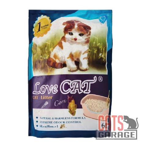 Love Cat® Cat Litter - Corn 6L