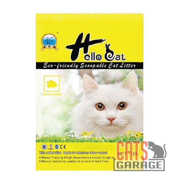 Hello Cat Litter - Lemon 10L