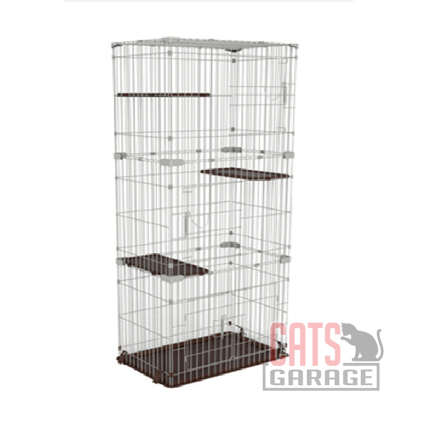 Marukan Cat Friend Room Slim - 3 Tier