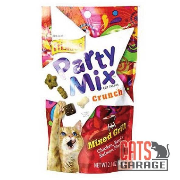 FRISKIES Party Mix - Mixed Grill Cat Treat 60g