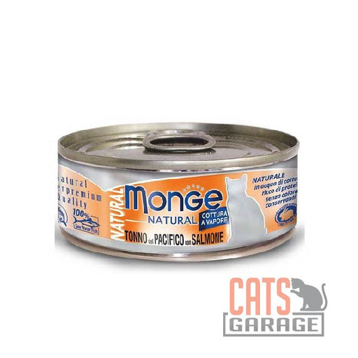 Monge Natural - Yellowfin Tuna With Salmon 80g
