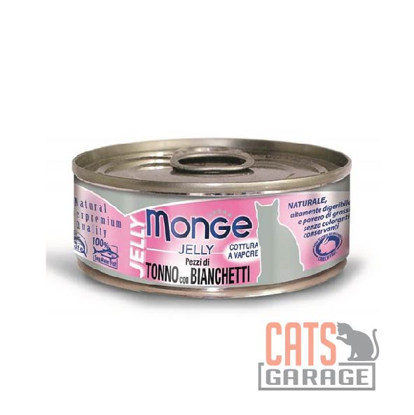 Monge Jelly - Yellowfin Tuna With Whitebait in Jelly 80g