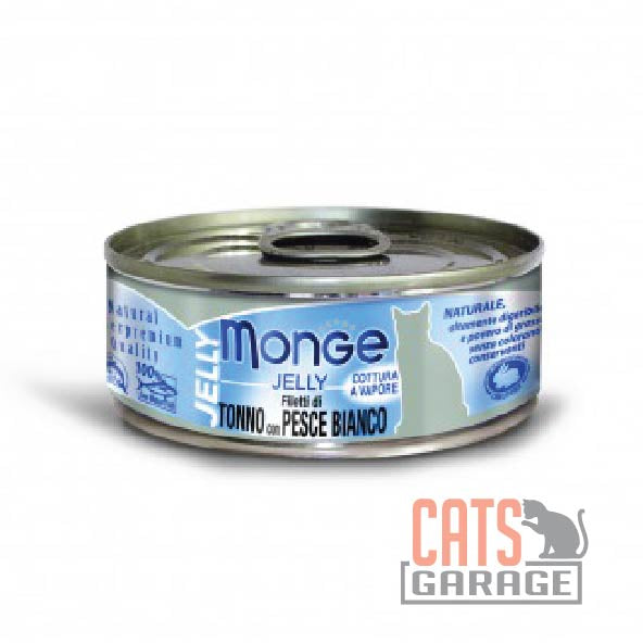 Monge Jelly - Yellowfin Tuna with Sea Bream in Jelly 80g