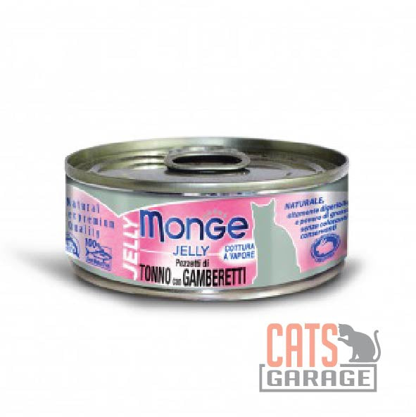 Monge Jelly - Yellowfin Tuna with Shrimp in Jelly 80g