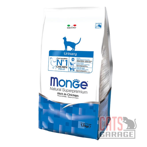 Monge Natural Superpremium - Urinary Rich In Chicken (2 Sizes)