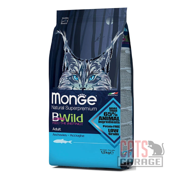Monge Bwild - Anchovies Adult 1.5kg
